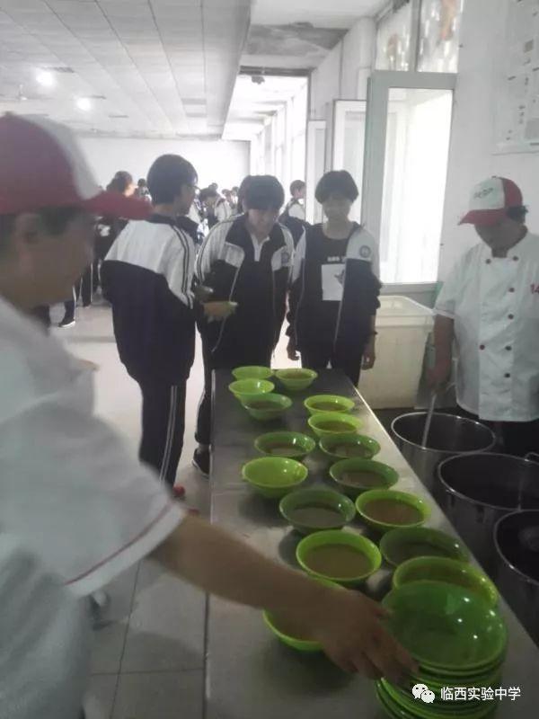 【校园动态】临西实验中学餐厅助力高考