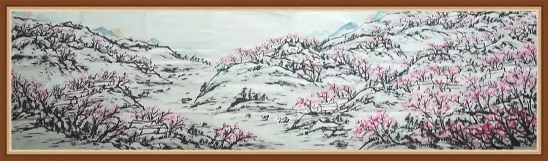 枝江《桃源图》,迟到三年的题名