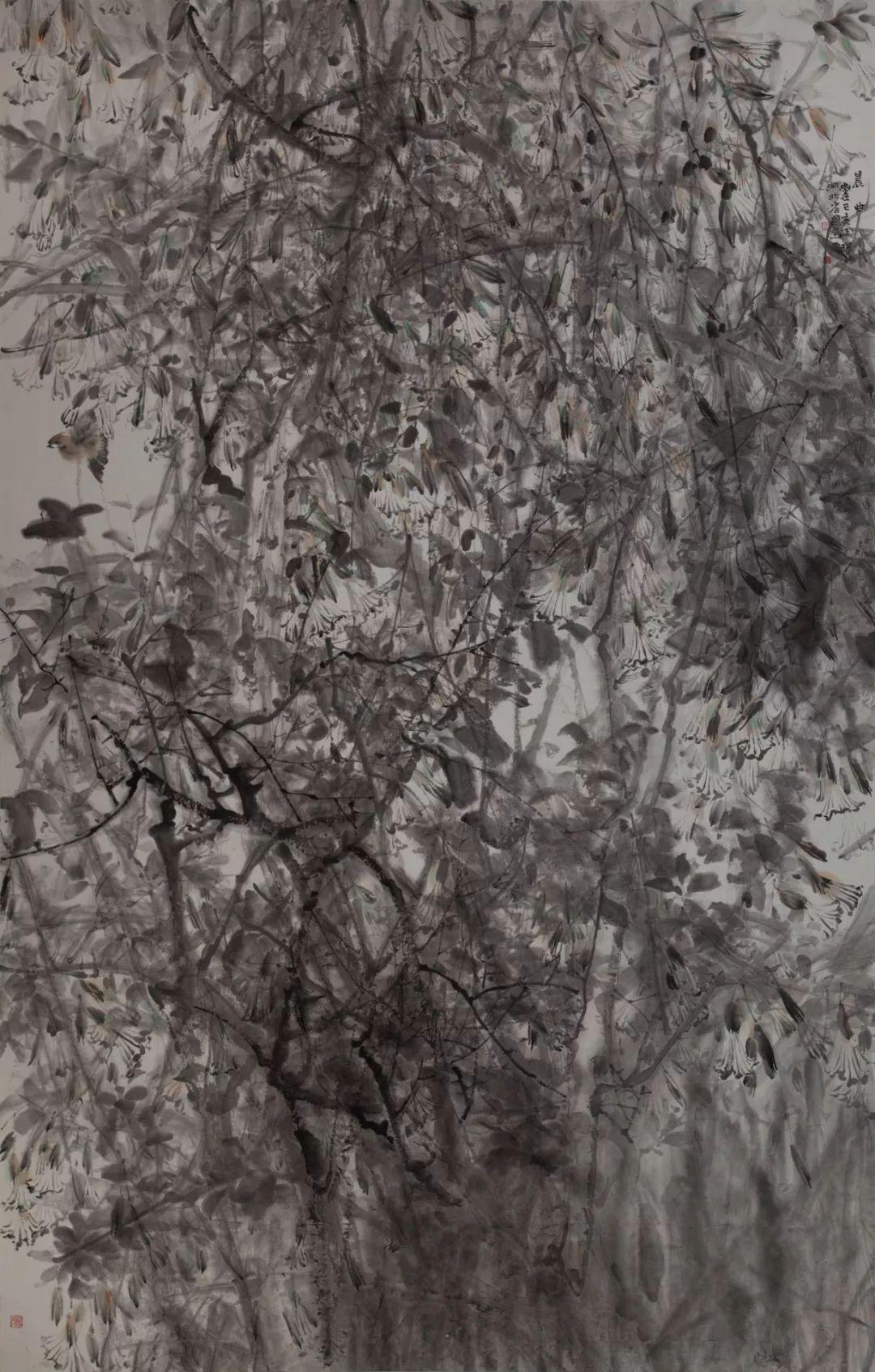 """�h川青年汪琛��作入�x2019年""""�f年浦江""""全��中����(��意)作品展"""
