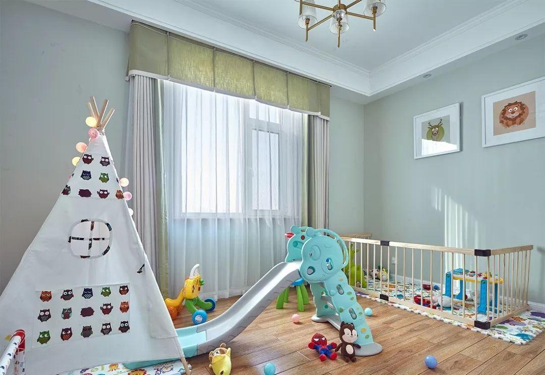 40款儿童房设计方案,0~18岁都有,赶紧收好!