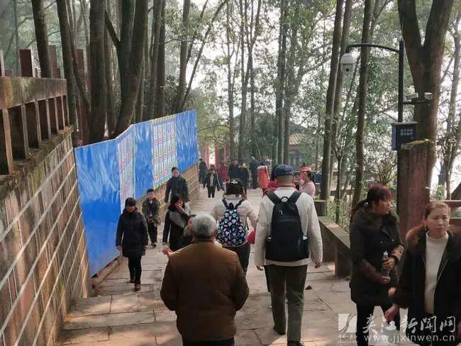 30.24万游客春节期间到夹江过年旅游总收入实现1.58亿