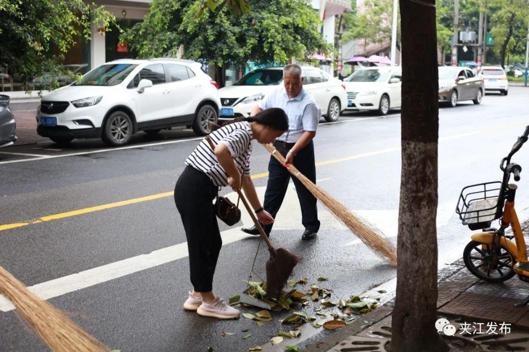 【环境提升进行时】守护干净整洁的夹江