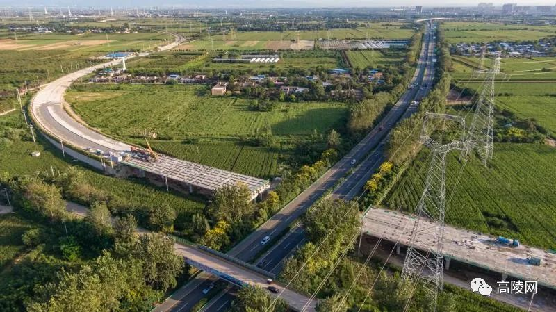 实拍210国道高陵过境公路改线工程最新进展!力争于年底前实现全线通车!