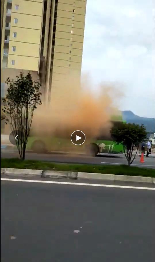 【辟谣】叙永县未发生公交车燃烧事件,视频内容系应急演练!