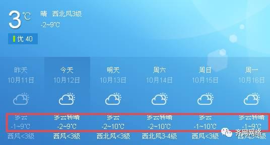 冷?冷?冷?!齐齐哈尔温度骤降到零下!更悲惨的是雪要来了…