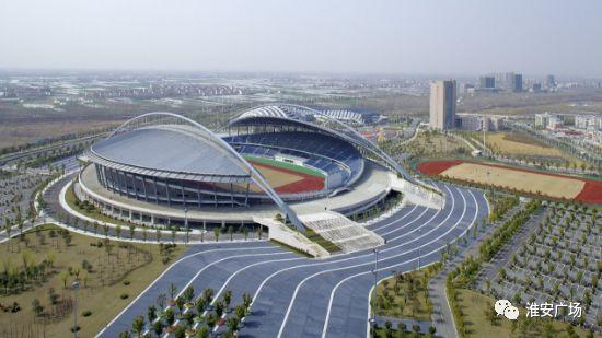 淮安市首个体育公园,淮安人又多了个好去处。