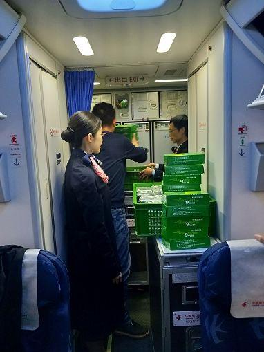 飞机餐泸州造|泸州机场航班今日正式启用本场配餐