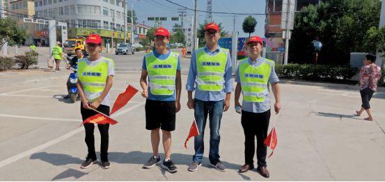 文明实践在金寨|白塔畈镇:文明交通齐参与传递社会正能量