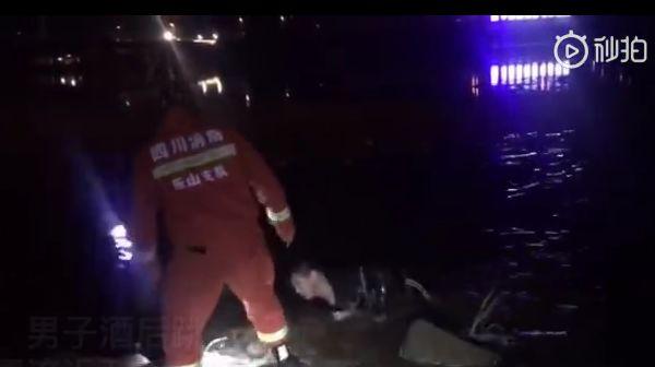 视频丨跳到半空中后悔了怎么办?在新大桥跳河的这个男子先是呛了几口水…