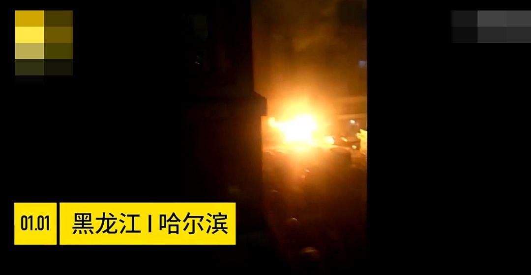 哭笑不得!厨师跑去看人打架忘了油锅,导致饭店起火