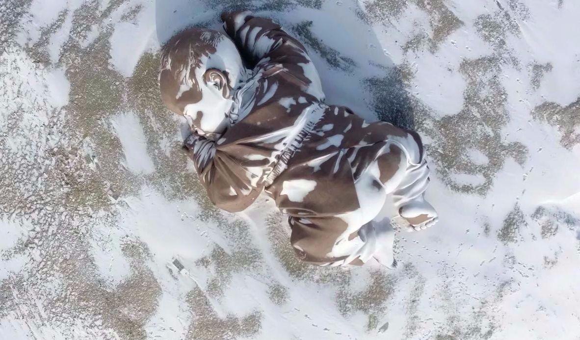 瓜州大地之子、锁阳城遗址雪后的颜值美爆了