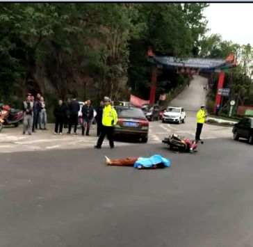 太吓人了!宜宾男子被撞飞,空中翻了一圈,当场身亡!