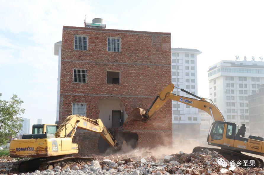 乌蒙水乡项目区内房屋拆迁已近尾声
