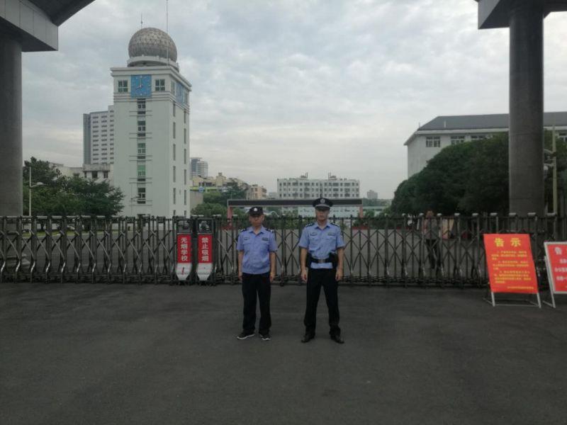 荆门东宝警方多举措护航中考安保