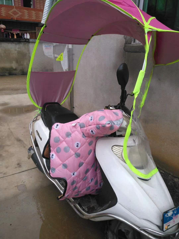 本人一辆命运多舛的白色电动车被偷了