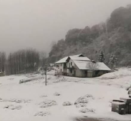 2017常德第一场落雪,现场很美!快来围观...