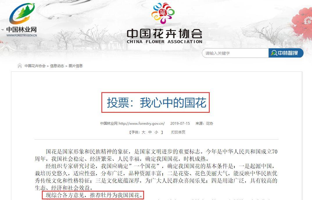 中国国花欲定牡丹,你支持吗?