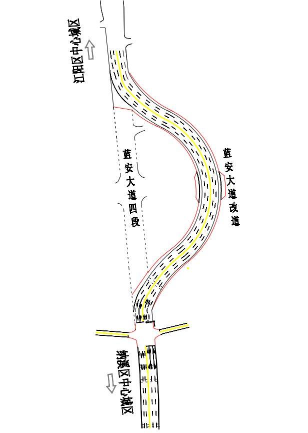 泸州这些路段4月18日起管制,行经的驾驶员要注意咯!