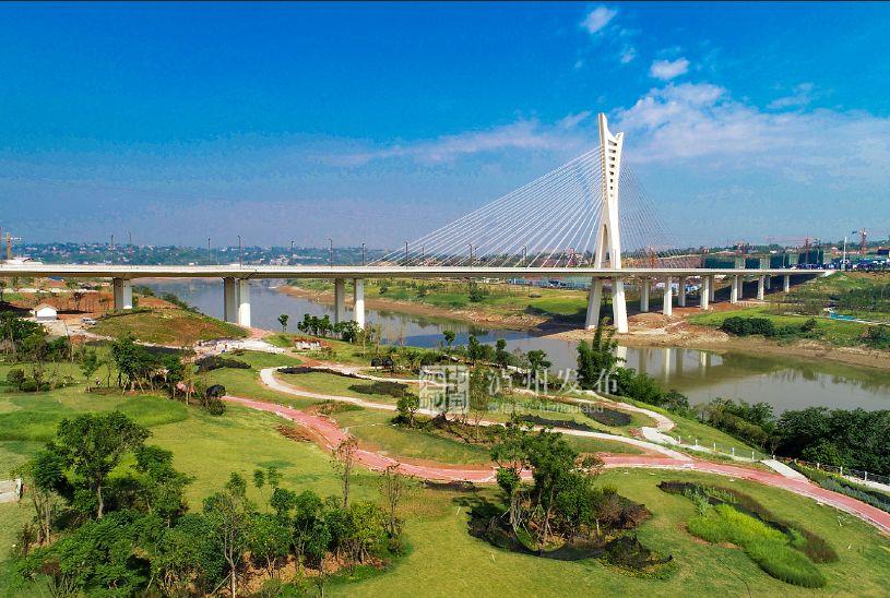 爱玩的你有福了!泸州又一个滨江公园竣工啦!一起去耍啊