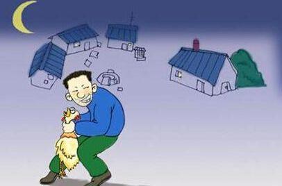 一男子多次到村里偷鸡,被仁寿的警察蜀黍逮到……