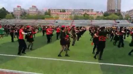 【视频】澳门轮盘赌场英姿水兵舞团参加全省千人水兵舞表演