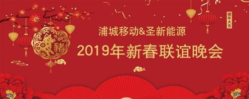浦城移動&圣新能源2019新春聯誼晚會