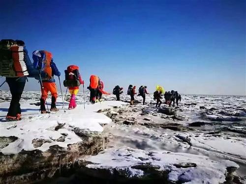 2019中國最北海岸線冰凌穿越全民體驗活動