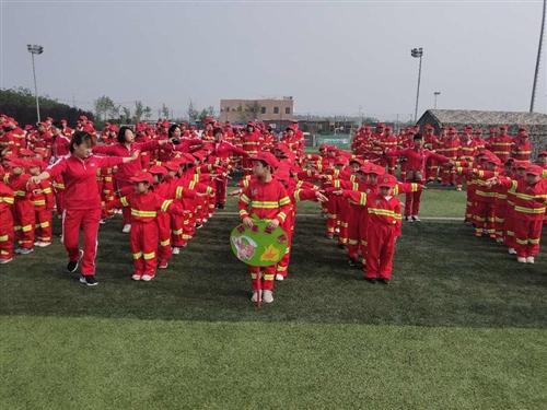 宝鹤、金钥匙、成龙、东胜幼儿园消防演练