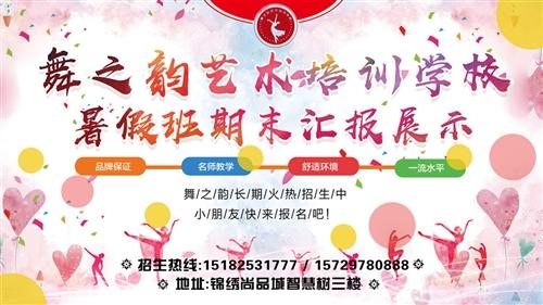 回放:蓬溪舞之韵艺术培训学校暑期班期末汇报展示