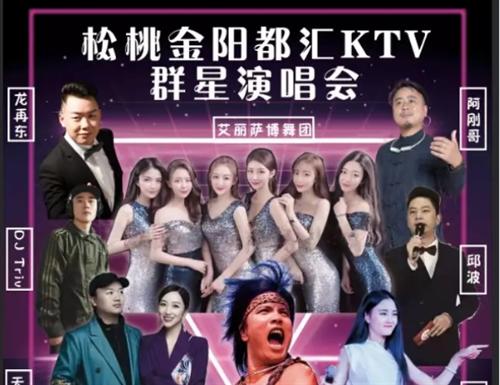 金阳都汇KTV盛大开业群星演唱会