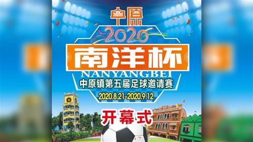 """【视频直播】2020""""南洋杯""""中原镇第五届足球邀请赛"""