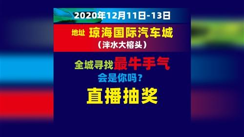 2020年海南东部(琼海)汽车展