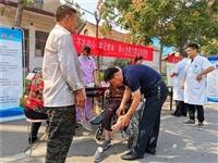泗水县疾病预防控制中心开展重阳节志愿服务活动