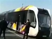 哈尔滨的无人驾驶公交车