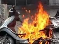 泗水某小区车库着火爆炸,夏季电动车安全须知!