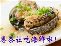 积赞58个免费吃鲍鱼啦!枝恩茶社粤厨主理平价海鲜,约起!