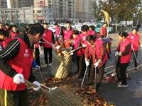 志愿服务共创美丽齐河,东海人用行动点亮文明