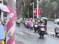儋州交警大力整治摩托车电动车交通违法行为!!