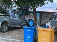 不文明行为!永春共享单车被扔进垃圾桶,这谁干的?
