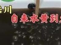 陆川沙坡路口附近,自来水浑浊变黄,水厂管理人员紧急回复.....