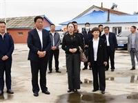 市委常委、政法委书记赵正军到辉南县调研政法工作