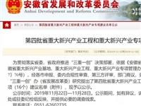 桐城生物产业入选第四批省重大新兴产业专项建议名单