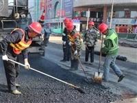 同安路地下综合管廊盛百至北岛段开启路面施工,春节前实现通车!