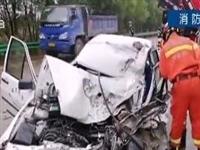 桐城:两车迎面相撞,一人当场身亡!