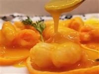 【美食分享】酸甜开胃的橙汁虾球,一口咬下去果香四溢