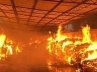面粉发生自燃?南部一粮油仓库内燃起大火!