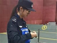 白银警花在全省特警大比武中斩获基础射击女子组第一名