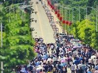 循化县1155名考生从容应考
