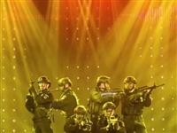 """金寨县公安局组织民警""""庆五一、迎五四""""职工文艺汇演"""