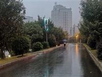 新县最近的天气,就像一天经历了四季